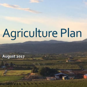 City of Kelowna – Agriculture Plan for 2017